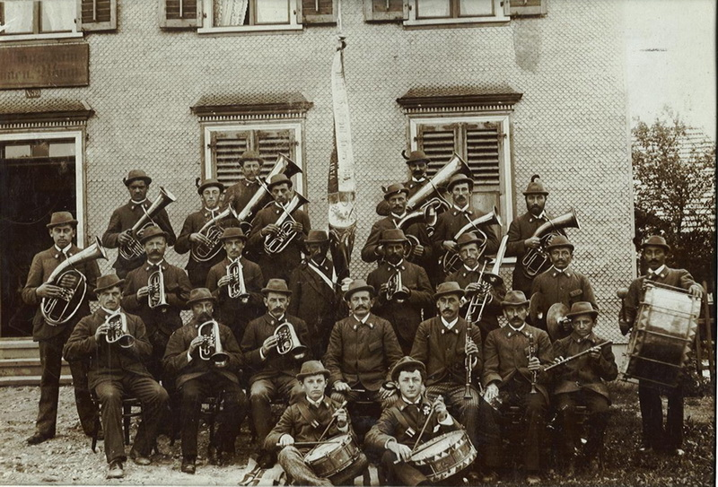 Bürgermusik Tosters 1898
