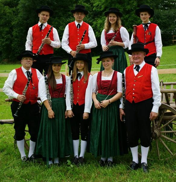 Gruppenbild Klarinetten