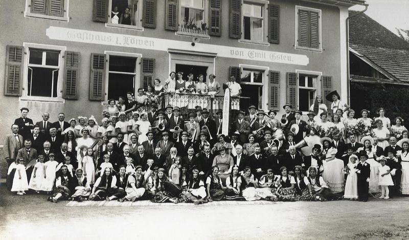 Harmoniemusik Tisis - Tosters 1935
