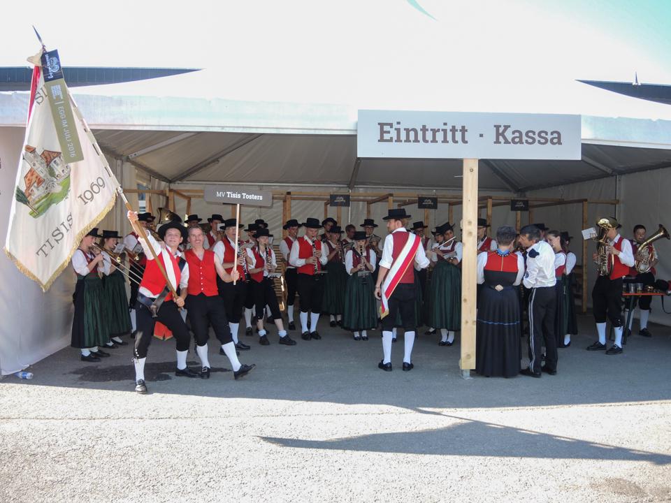 Bezirksmusikfest Egg